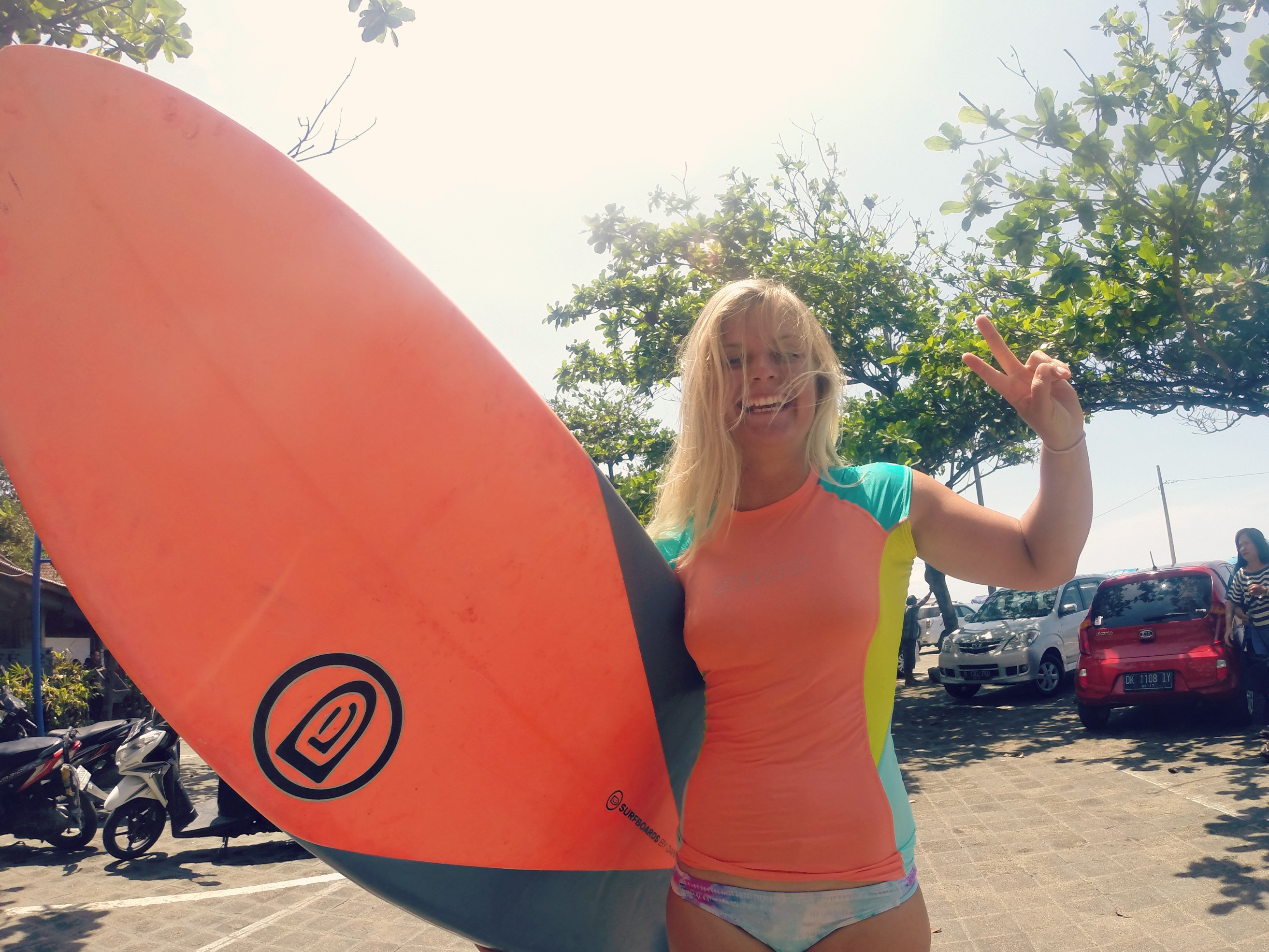 Small waves and big boards